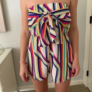 MEW WITH TAGS ROMPER